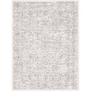 Saul White 7 ft. 10 in. x 10 ft. Area Rug
