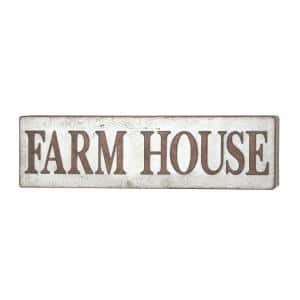 FARM HOUSE Iron Decorative Sign