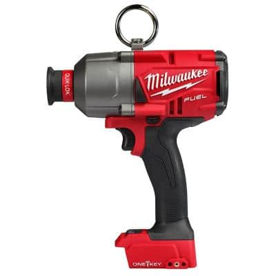 M18 Fuel ONE-KEY 18-Volt Lithium-Ion Brushless Cordless 7/16 in. Hex High Torque Impact Wrench (Tool-Only)