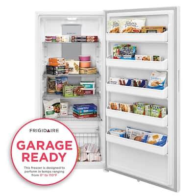 20.0 Cu. Ft Upright Freezer in White