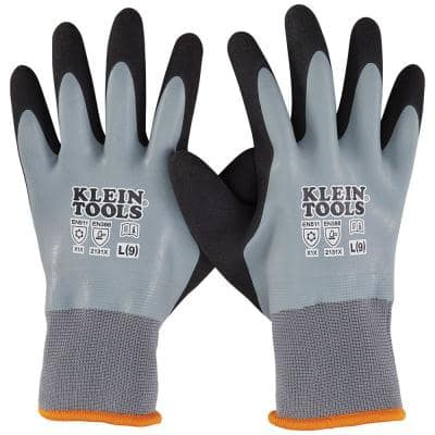 Large Thermal Dipped Gloves