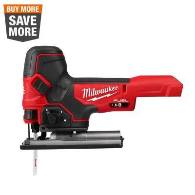 M18 FUEL 18-Volt Lithium-Ion Brushless Cordless Barrel Grip Jig Saw (Tool Only)