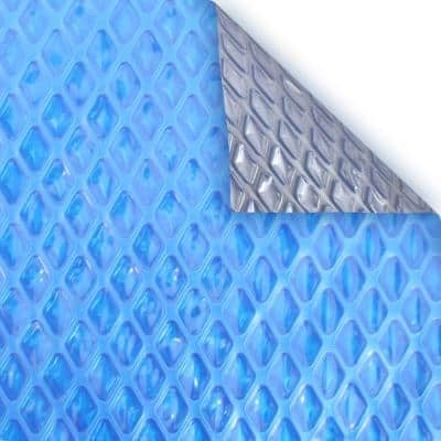 Heavy-Duty Space Age 8 ft. x 8 ft. Rectangular Solar In Ground Pool Cover