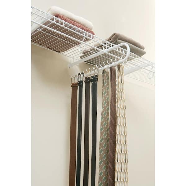 Rubbermaid 30-Hook Tie/Belt Rack Organizer