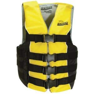 Seachoice General Purpose Vest For Adult Red 85450 The Home Depot