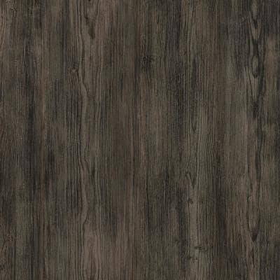 5 in. W x Multi-Length Farmhouse Pine Peel and Stick Vinyl Wall Plank (20 sq. ft./case)