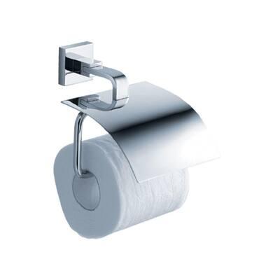 Glorioso Single Post Toilet Paper Holder in Chrome
