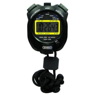 Sport Timer, Stopwatch with Clock