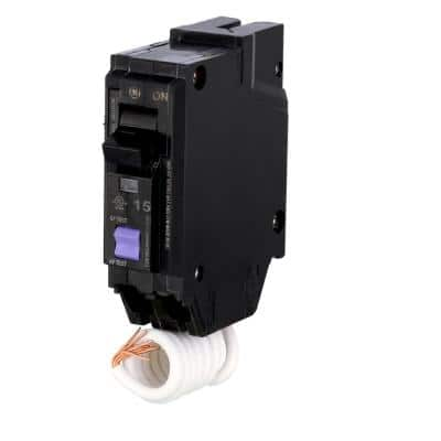 Q-Line 15 Amp Single-Pole Dual Function Arc Fault/GFCI Breaker