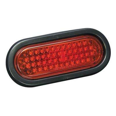 Waterproof Oval Mount LED Taillight - 6 in.