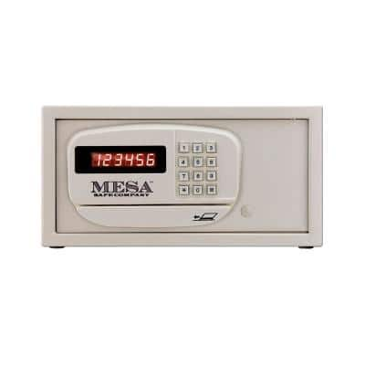 0.4 cu. ft. All Steel Hotel Safe with Electronic Lock, Cream