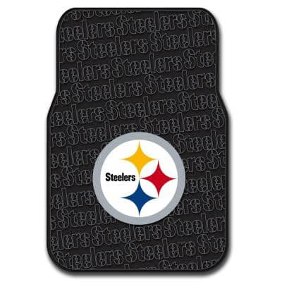 Pittsburgh Steelers Multi-Color Rubber Car Front Floor Mats