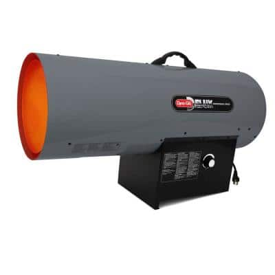 300K BTU Forced Air Propane Portable Heater with Thermostat