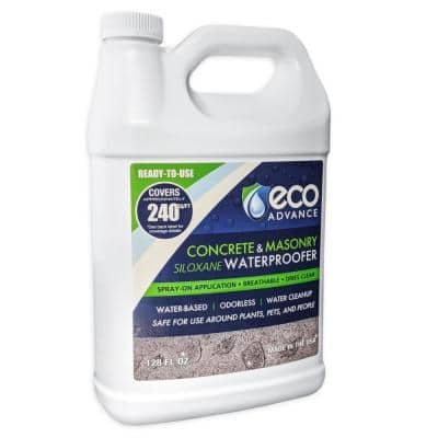 1 Gal. Clear Penetrating Siloxane Concrete and Masonry Water Repellent Sealer - Ready-To-Use