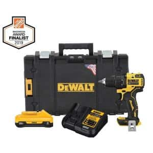 ATOMIC 20-Volt MAX Cordless Brushless 1/2 in. Drill/Driver Kit, (1) 4.0Ah Battery, Charger & Tough System 22 in. Toolbox