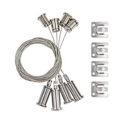 4 ft. Suspension Wire Cord for LED Flat Panel Hanging