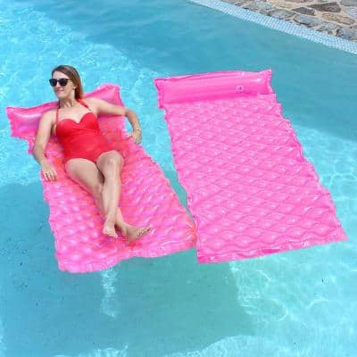 Smart Float Pink (2-Pack) Pool Float