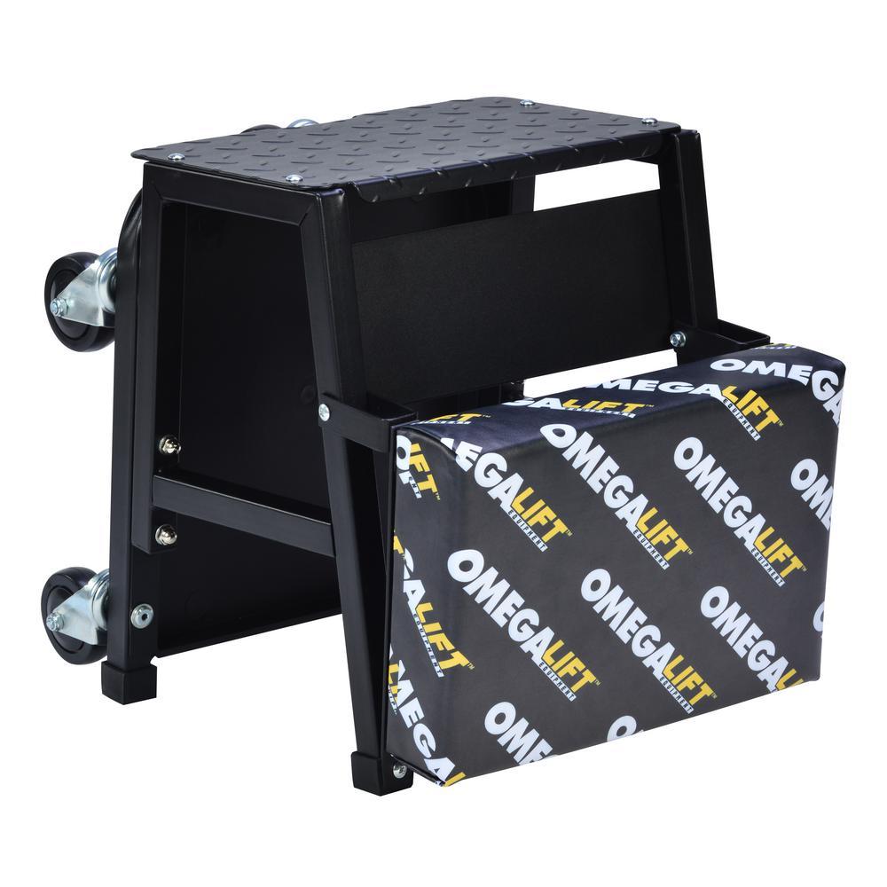 2-in-1 Mechanics Creeper Seat/Step Stool