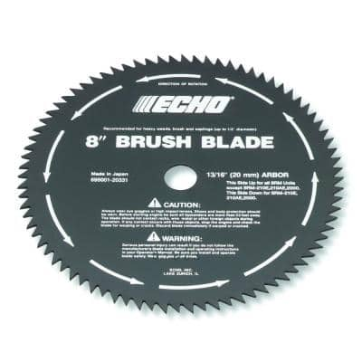 8 in. 20 mm 80-Tooth Brush Blade