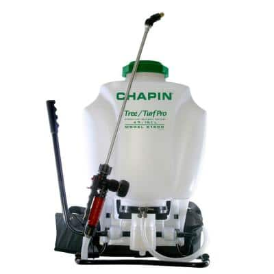 4 Gal. Tree and Turf Pro-Commercial Backpack Sprayer with Steel Wand