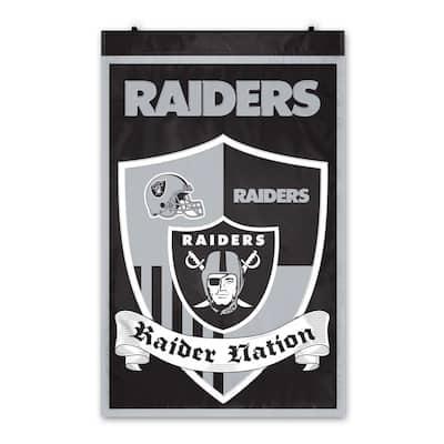 Oakland Raiders Wall Shield Tapestry