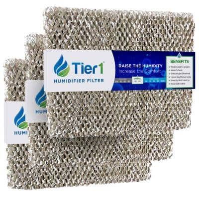 Replacement for GeneralAire 990-13 Models 1042, 1137, 1040 Humidifier Filter (3-Pack)