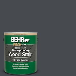 1 gal. #N500-7 Night Club Solid Color Waterproofing Exterior Wood Stain