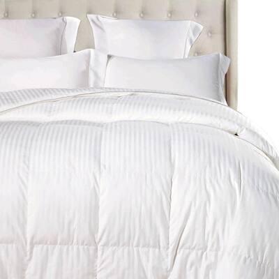 Year Round Warmth White California King Down Alternative Comforter