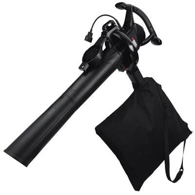 210 MPH 300 CFM 12 Amp 3-in-1 Corded Electric Handheld Leaf Blower/Vacuum/Mulcher