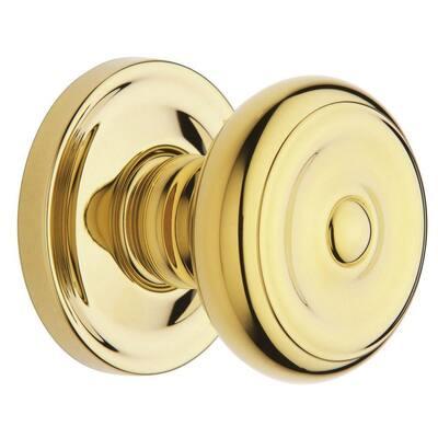 Estate Colonial Polished Brass Hall/Closet Door Knob