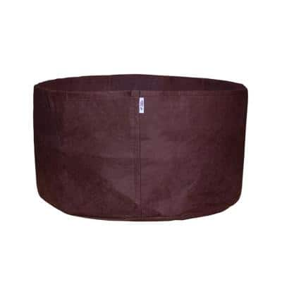 100 Gal. Breathable Boxer Brown Fabric Planting Containers and Pots Planter (1-Pack)