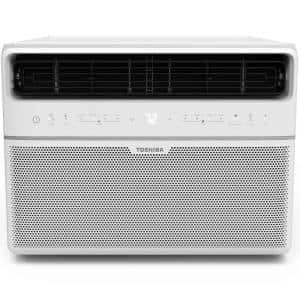 10,000 BTU 115-Volt Smart WiFi Touch Control Window Air Conditioner with Remote and ENERGY STAR in White