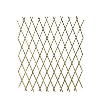 72 in. H Bamboo Poles Flex Fence