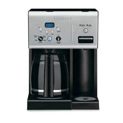 COFFEE PLUS 12-Cup Black Drip Coffee Maker with Automatic Shut-Off