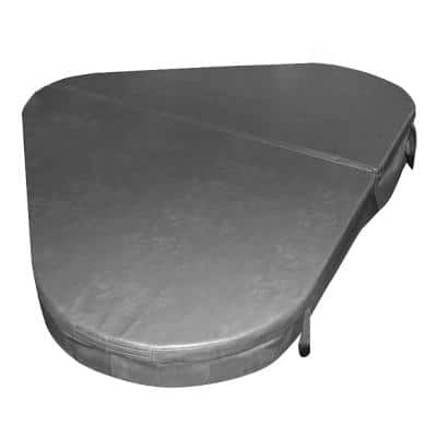 88 in. W x 60 in. D Hard Hot Tub Cover for Model 10 Riviera
