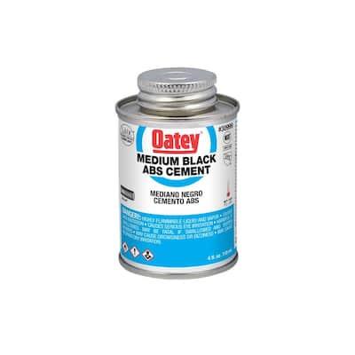 4 oz. Medium Black ABS Cement