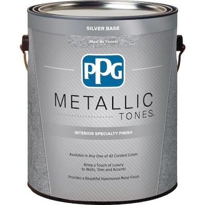 1 gal. Silver Metallic Interior Specialty Finish