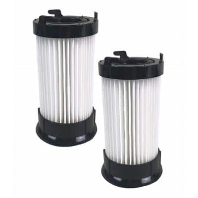 Dust Cup Filters for Eureka DCF4, DCF18 Part 62132 63073 3690 18505 61700 61770 28608-1 28608B-1 (2-Pack)