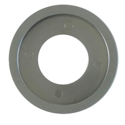 Flange Ring in Satin Chrome
