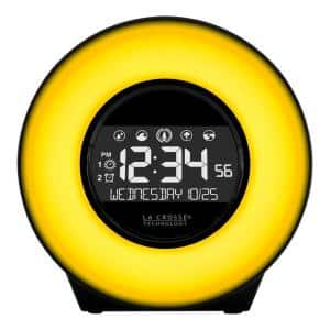 Color Mood Light Alarm Clock with Nature Sounds