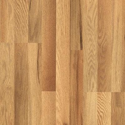 XP Haley Oak 8 mm T x 7.48 in. W x 47.24 in. L Laminate Flooring (19.63 sq. ft. / case)