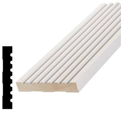 WPAMC 288 9/16 in. x 4-1/4 in. x 96 in. Primed Finger-Joint Pine Casing