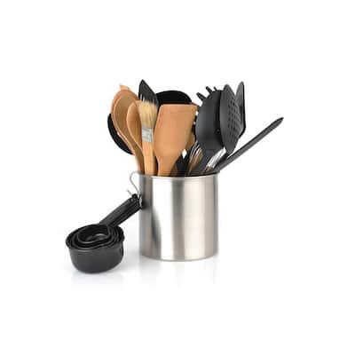 Studio Nylon Silver Kitchen Utensil Set (Set of 23)