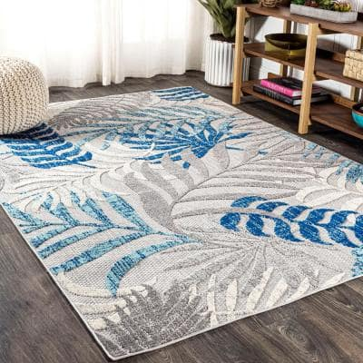 Gray Outdoor Rugs Rugs The Home Depot