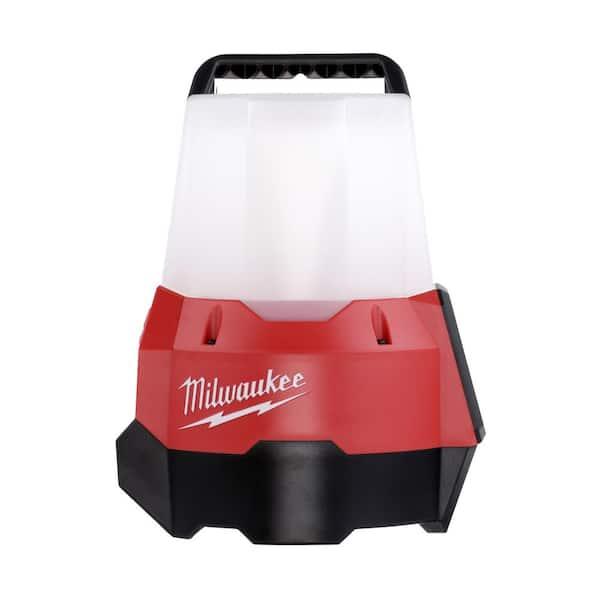 Tool-Only Milwaukee Work Light 18-Volt 2200-Lumen Cordless Compact Flood Mode