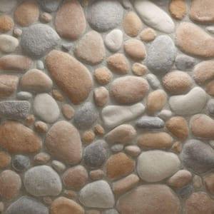 River Rock Gainsboro Flats 150 sq. ft. Bulk Pallet Manufactured Stone