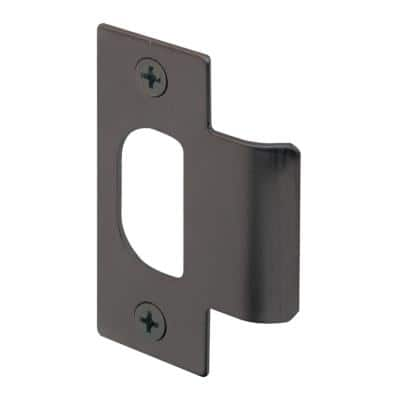 Standard T-Strike, 2-1/8 in. Hole Spacing, Classic Bronze Finish, Meets ANSI A156.2