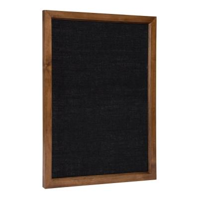 Hogan Brown Fabric Pinboard Memo Board