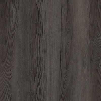 Black Ash 7.1 in. W x 47.6 in. L Luxury Vinyl Plank Flooring (23.44 sq. ft. / case)