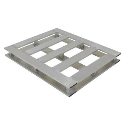 4-Way 42 in. x 48 in. Heavy-Duty Aluminum Pallet